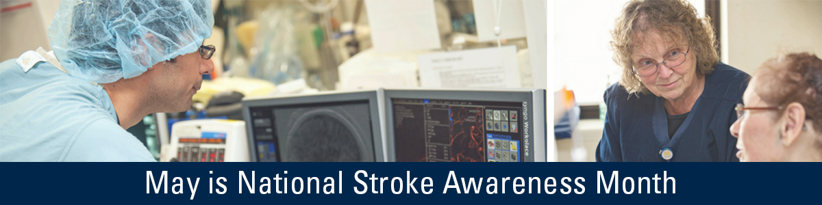 May is National Stroke Awareness Month banner