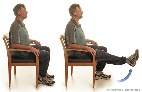 Program A: Seated Exercises | University of Michigan Health System