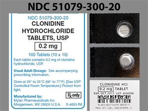 clonidine (oral)   Michigan Medicine