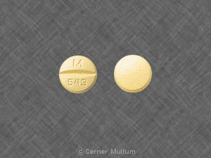 Image of HCTZ-Quinapril 20 mg-12.5 mg-MYL