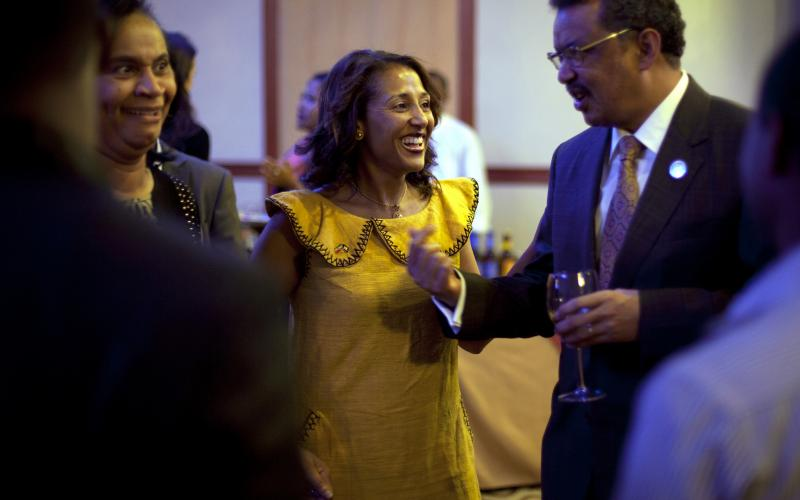 Drs.Senait and Tedros