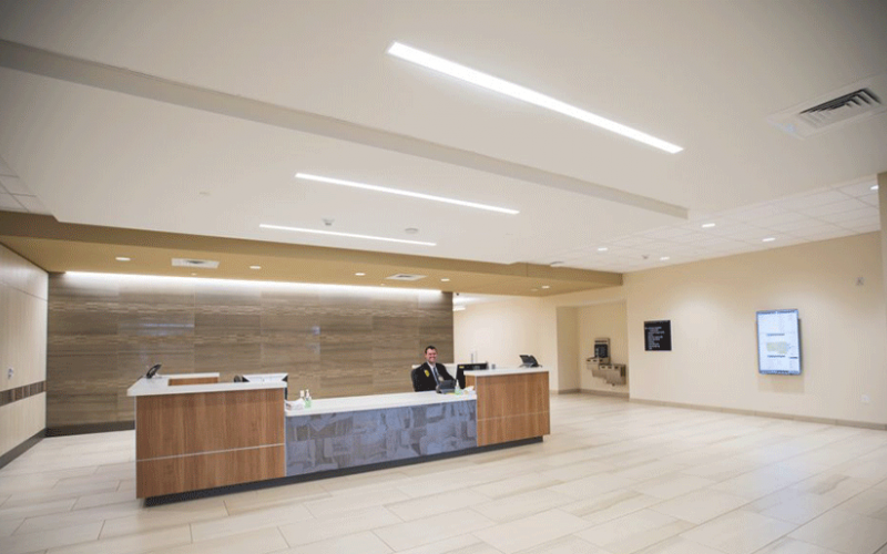 Front desk of the Brighton Center for Specialty Care