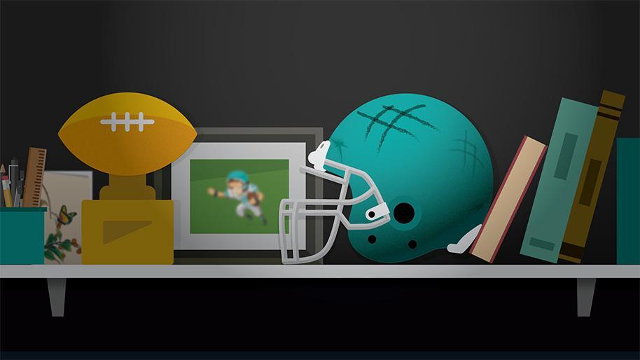 Sports equipment graphic
