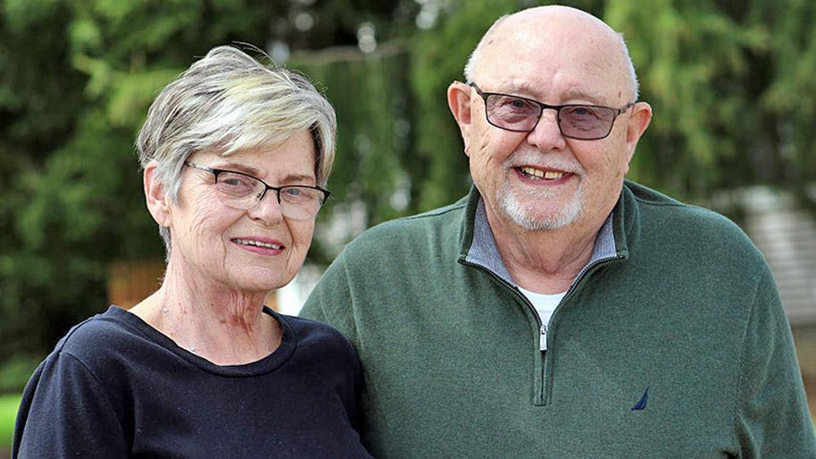 Bob and Gloria Stephens