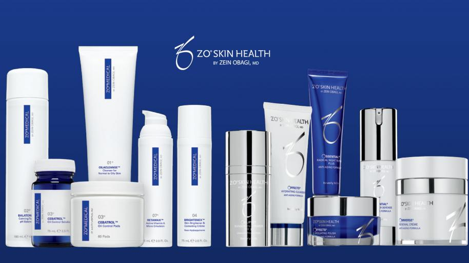 ZO Skin Health System line-up of products