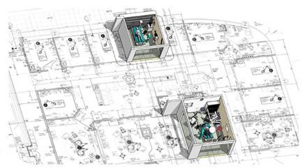 Emergency Critical Care Center  schematic