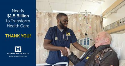 Victors for Michigan campaign most successful in health system history
