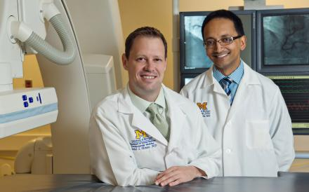 Daniel Menees, M.D., and Hitinder Gurm, M.D.