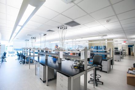 Pathology facility at NCRC