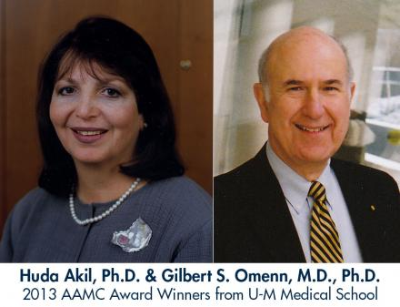 Huda Akil and Gilbert S. Omenn