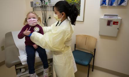 Mott patient and doctor