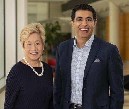 Judith Tam and Sachin Kheterpal, M.D., M.B.A.