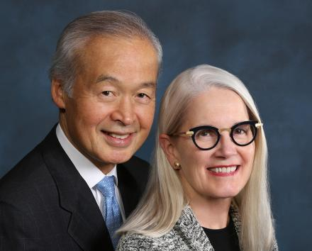 Dr Tadataka Yamada and Leslie D. Yamada