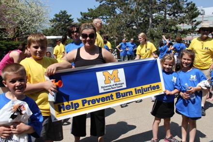 Burn Injury Awareness Week event