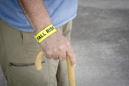Parkinson's disease fall risk