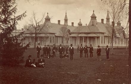 University of Michigan hospital pavilions, 1877