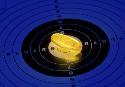 Pill target