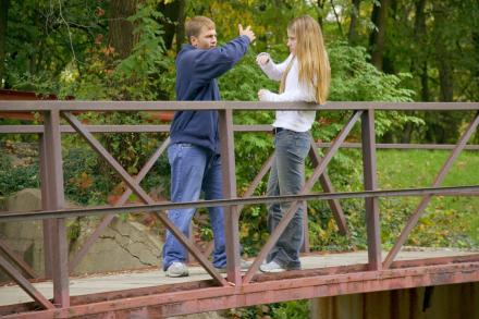 Aggression in teen relationships