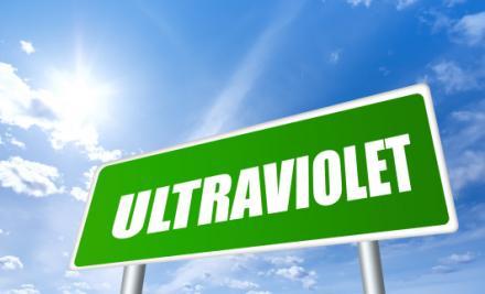 Ultraviolet sign