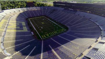 Michigan Stadium:  Be A Hero