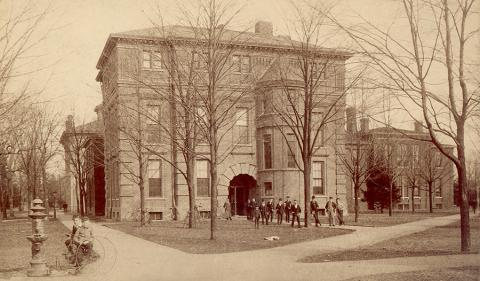 1856 chemical building