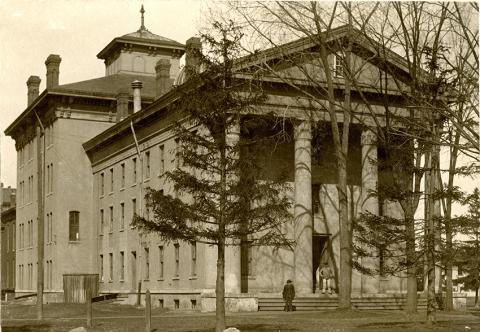1865 first medical school building