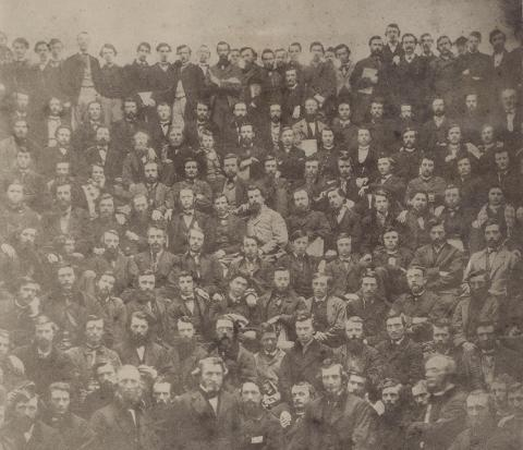 1867 med students and profs