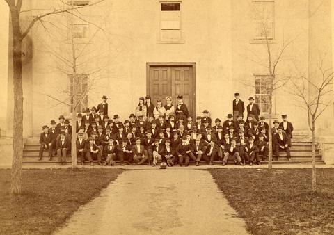 Class of 1875 taken 1871