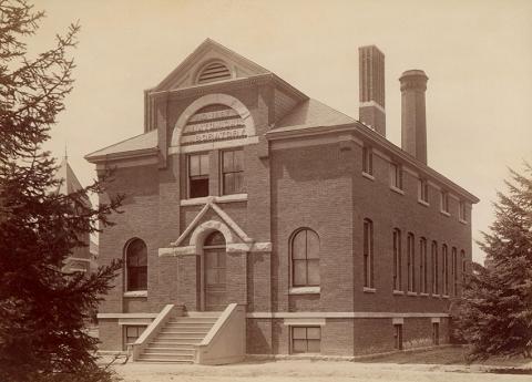 1889 anatomical lab
