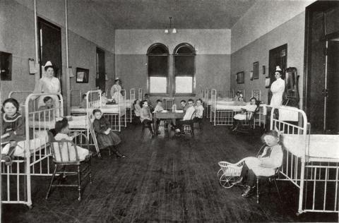 1903 palmer ward interior