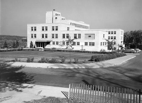 1950 maternity hospital.