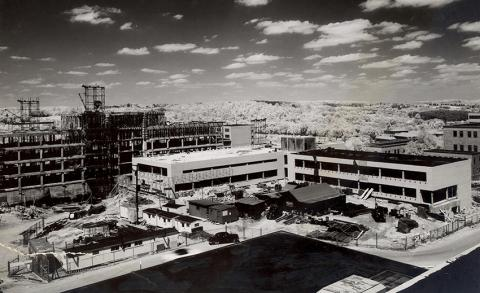 1958 construction of med sci I