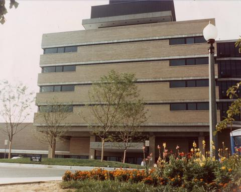 1969 Mott from courtyard