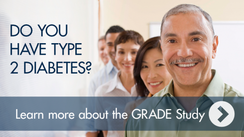 Click to get information about GRADE diabetes study