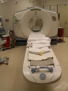 CT machine image