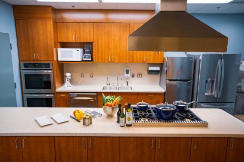 Kitchen at Michigan Medicine's East Ann Arbor Health & Geriatrics Center