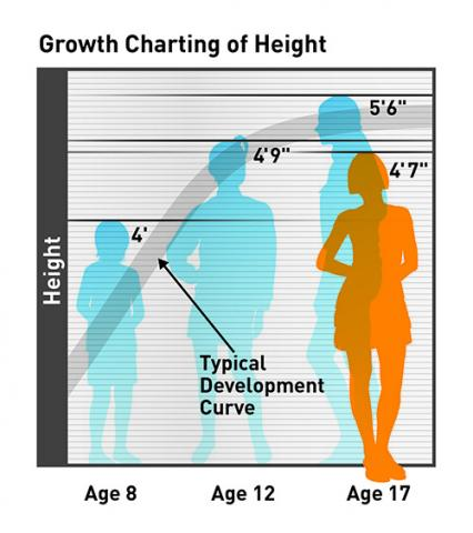 height growth chart