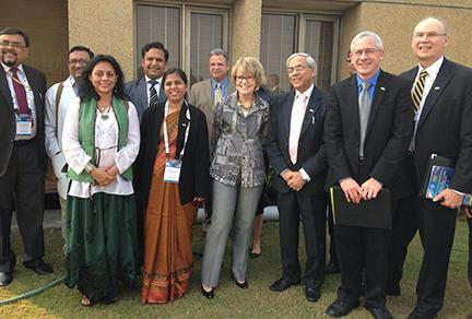 U-M and AIIMS leaders