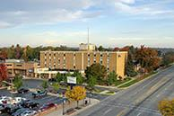 image of MidMichigan hospital in Clare, MI