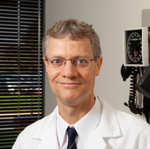 Principal investigator Nicolaas Bohnen, M.D., Ph.D.