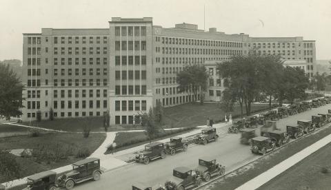 Old Main University Hospital 1925
