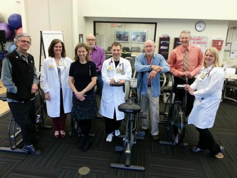 image of Cardiac Rehab team
