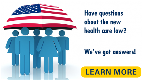 Affordable Care Act - info about enrolling