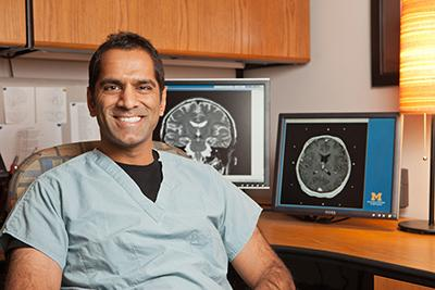 Parag Patil, M.D., Ph.D., U-M neurosurgeon