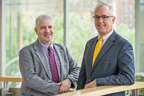 David Pinsky, M.D., and Robert Neumar, M.D., Ph.D.