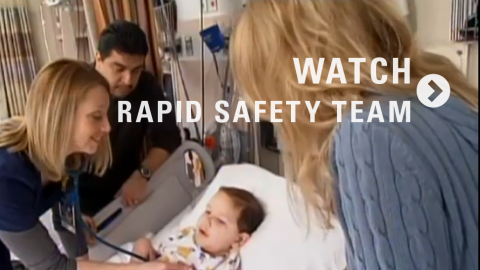 FIRST: Family Initiated Rapid Safety Team Video