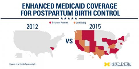 Medicaid coverage map