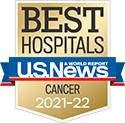 Michigan Medicine Cancer is a nationally ranked specialty area by US News & World Report 2021-22.