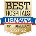 Michigan Medicine Ophthalmology is ranked #8 in the nation and #1 in Michigan by US News and World Report 2021-22.