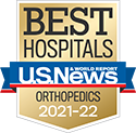 Michigan Medicine Orthopedics is a nationally ranked specialty by US News & World Report 2021-22.